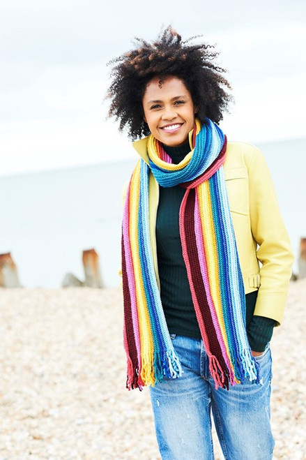 Crocheted Time Traveller Scarf - Yarn Pack
