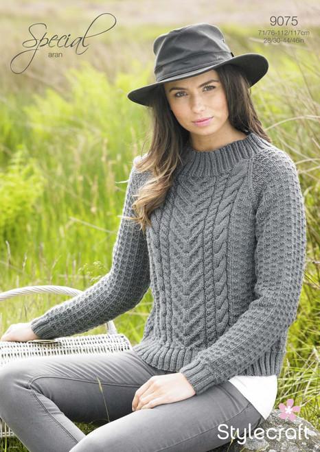 Stylecraft Pattern 9075 - Sweater