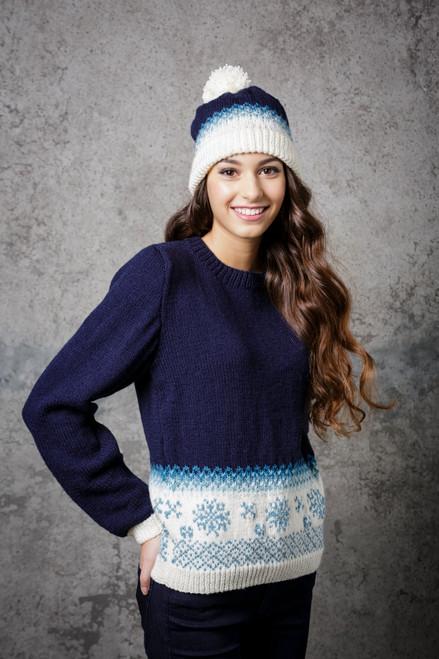 Stylecraft Pattern 9308 - Jumper and Hat