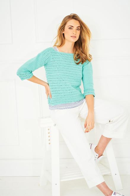 Stylecraft Pattern 9645 - Sweater and Waistcoat