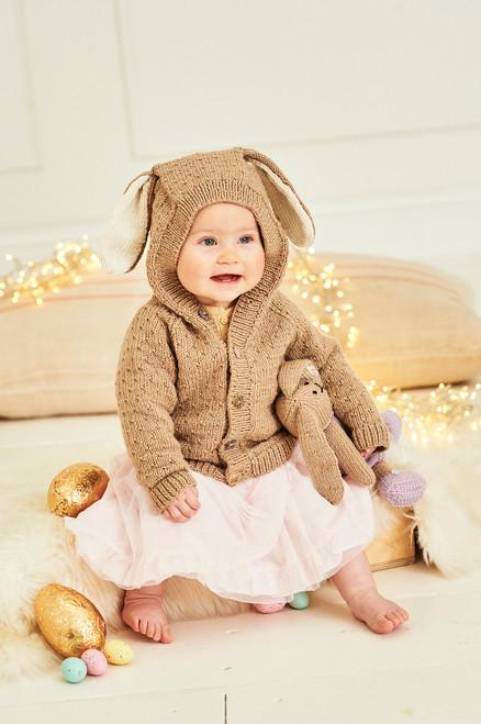 Stylecraft Pattern 9855 - Bunny Toys and Jacket