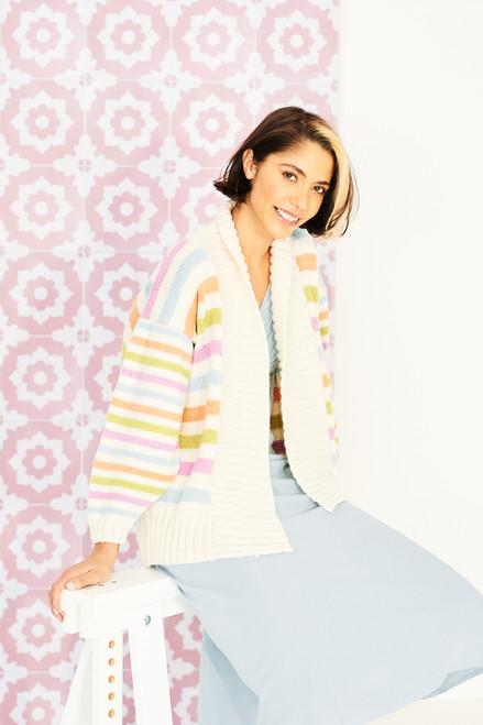 Stylecraft Pattern 9852 - Sweater and Jacket