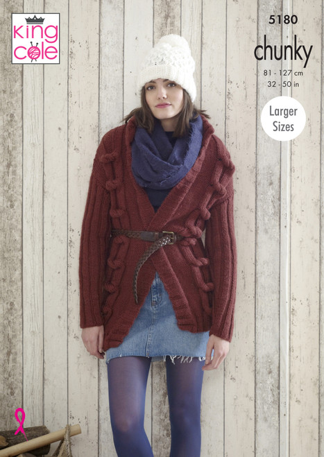 King Cole Pattern 5180 - Jackets and Hats