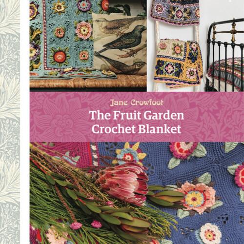 The Fruit Garden Crochet Blanket by Jane Crowfoot