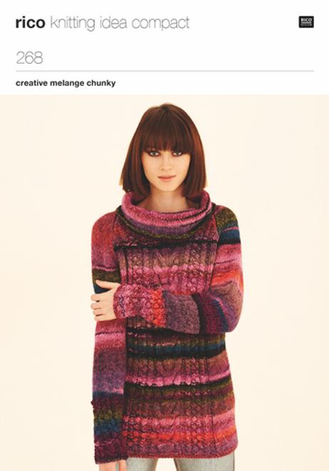 Rico Pattern 268 - Raglan Tunic and Sweater