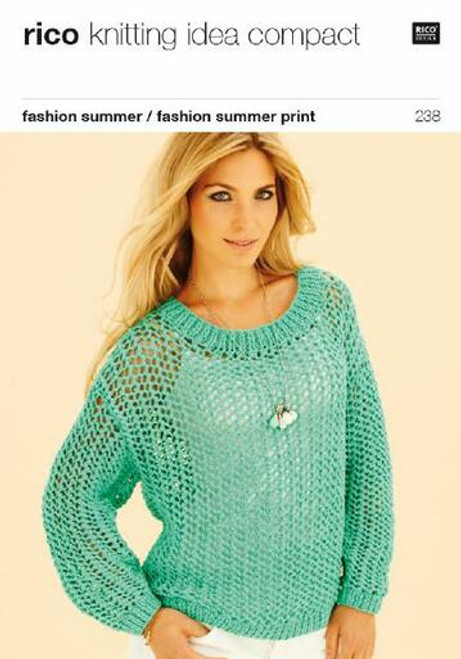 Rico Pattern 238 - Lacy Sweater and Top