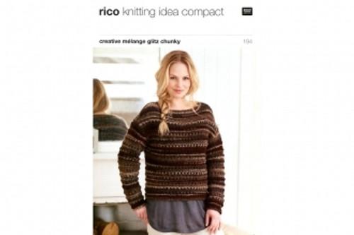 Rico Pattern 194 - Lace Yoke Sweaters and Snood