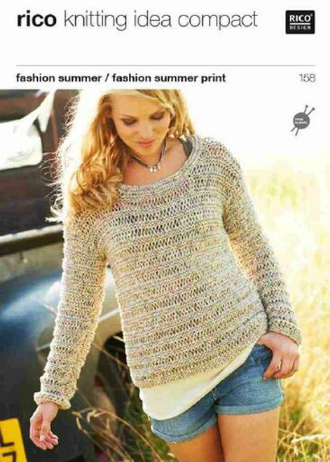 Rico Pattern 158 - Sweater and Top