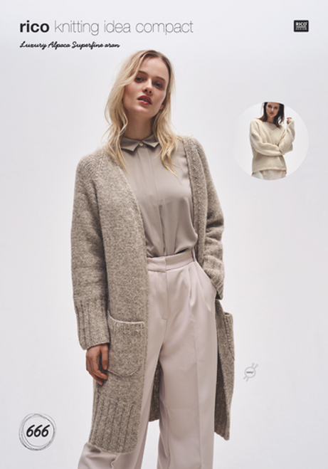 Rico Pattern 666 - Sweater and Cardigan