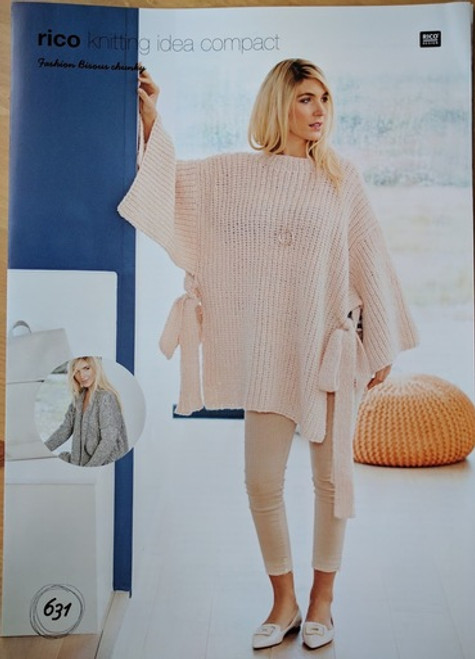 Rico Pattern 631 - Cardigan and Poncho