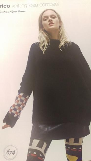 Rico Pattern 674 - Sweater