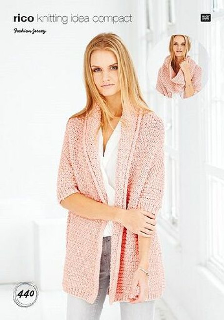 Rico Pattern 440 - Cardigan and Snood