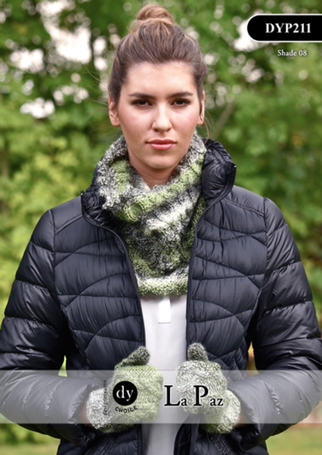 DY Choice La Paz Pattern DYP211 - Cowl and Mitts