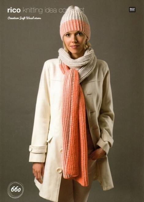 Rico Pattern 660 - Hat and Scarf