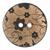 Wooden Flower Print Buttons