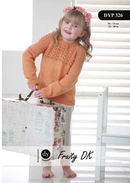 DY Choice Pattern 326 - Raglan Sweater