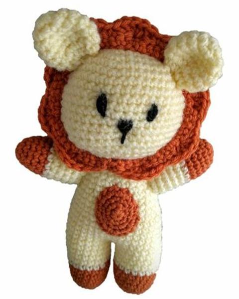 Crochet Pattern - Leo the Lion
