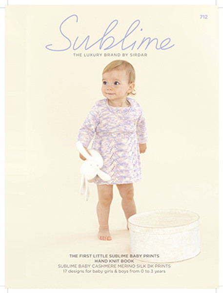 The First Little Sublime Baby Prints Hand Knit Book (712)