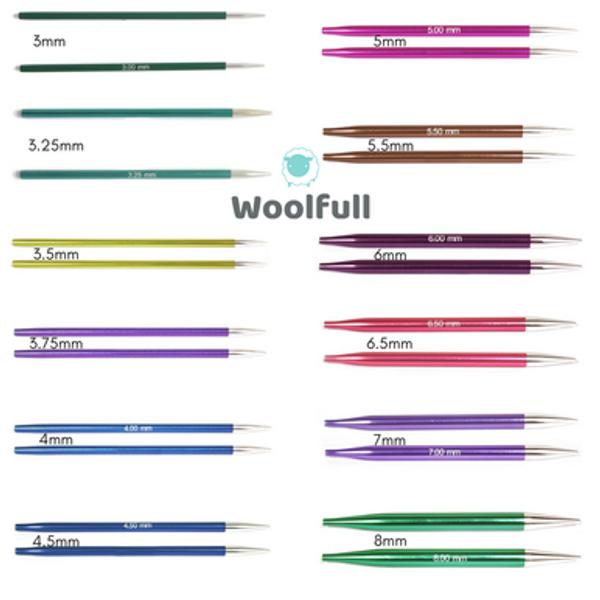KnitPro Zing Interchangeable Knitting Needles