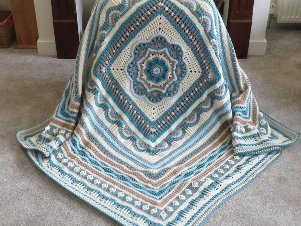 Faith Blanket - Hope Yarn Pack in Bellissima DK