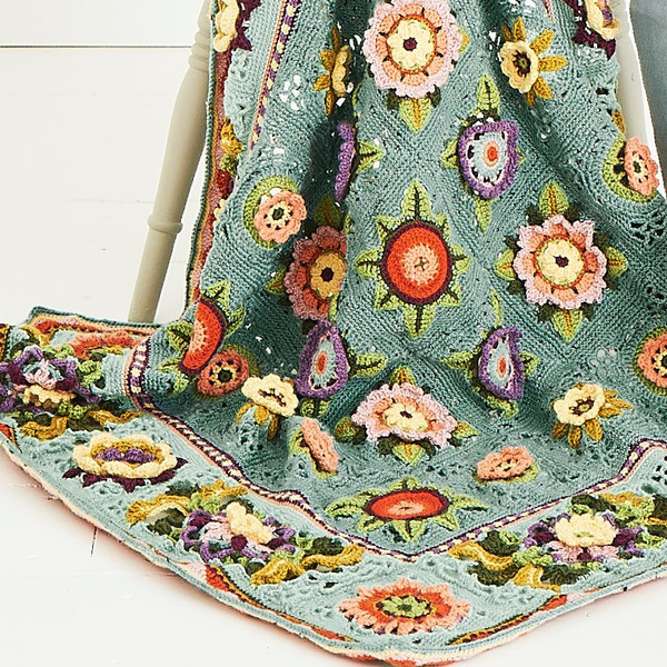 Fruit Garden Blanket - Yarn Pack (Love is Enough)