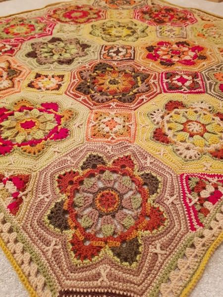 Persian Tiles - In Awe of Autumn Crochet Yarn Pack