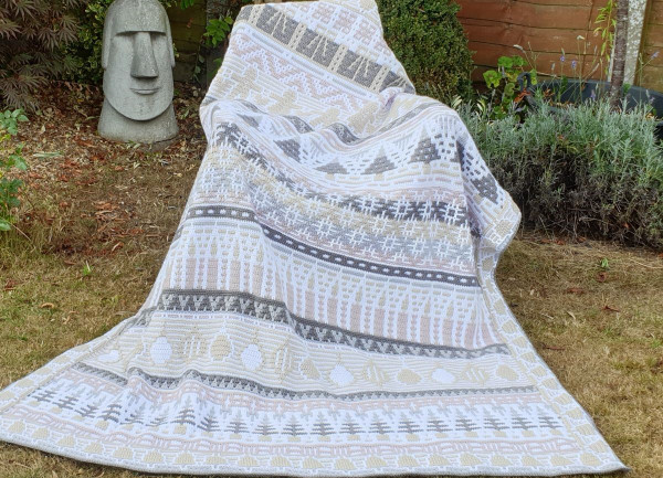 Letitia's Holiday - Vintage Holiday - Large Yarn Pack