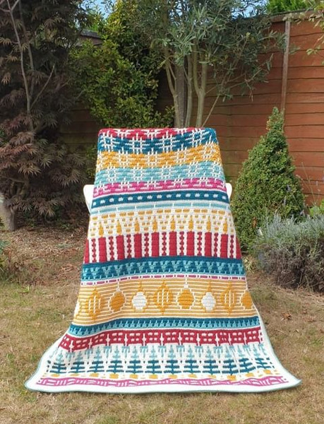 Letitia's Holiday - Traditional Holiday - Medium Yarn Pack