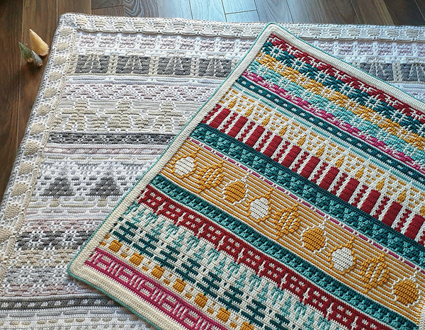 Letitia's Holiday - Vintage Holiday - Small Yarn Pack