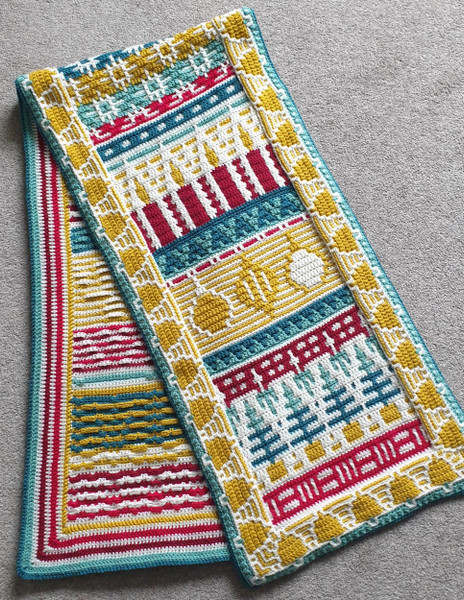 Letitia's Holiday - Traditional Holiday - Runner Yarn Pack