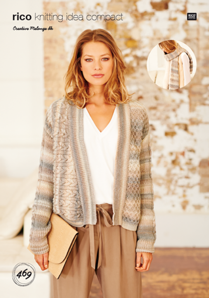 Rico Pattern 469 - Cardigan and Scarf