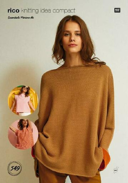 Rico Pattern 549 - Square Jumper and Tops