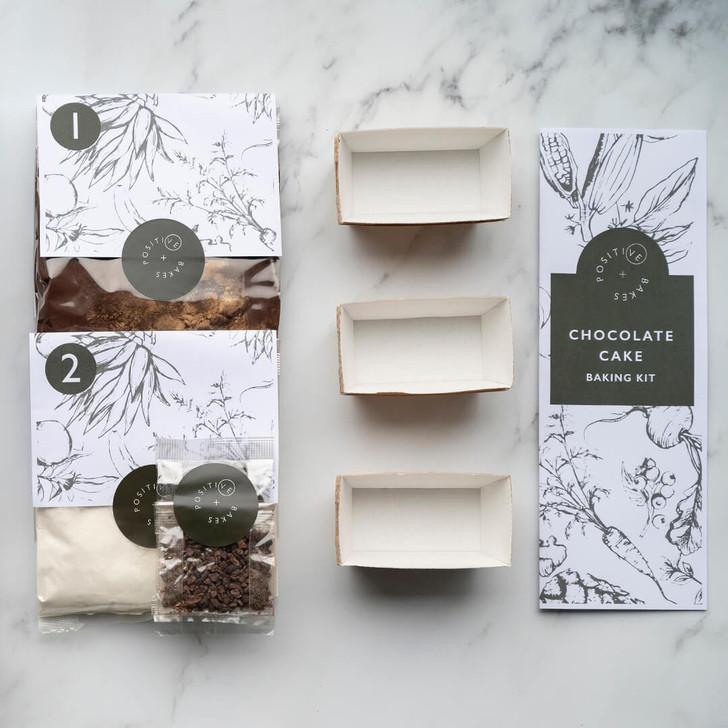 Chocolate Cake Baking Kit | Vegan, gluten free, dairy free, eggless