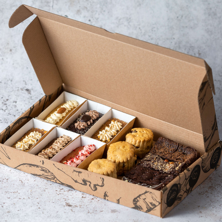 Afternoon Tea family selection box of cake, scones & brownies