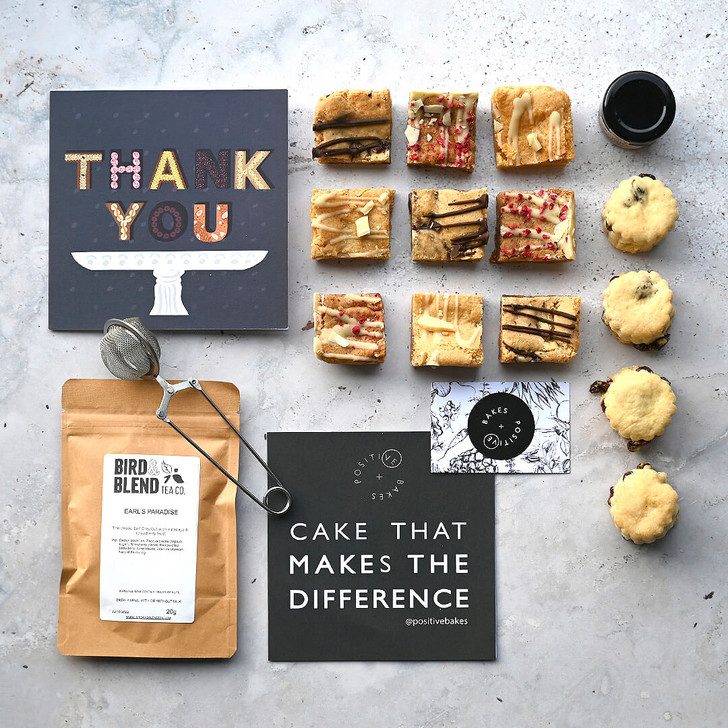 Afternoon Tea Subscription Box - Vegan, gluten free, delivered to your door, cakes scones, brownies, jam and tea, Perfect for gifts!