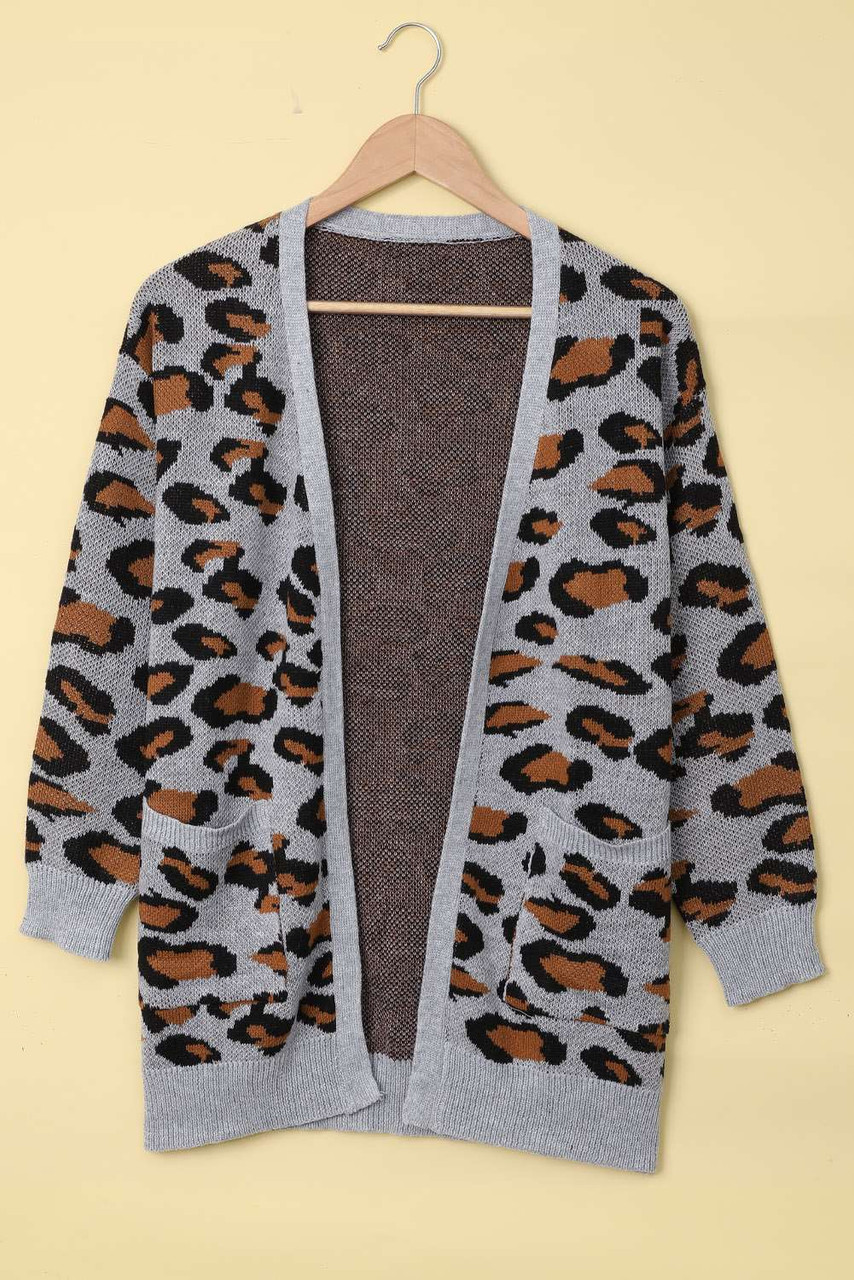 Are You Kitten Me Pocketed Cardigan