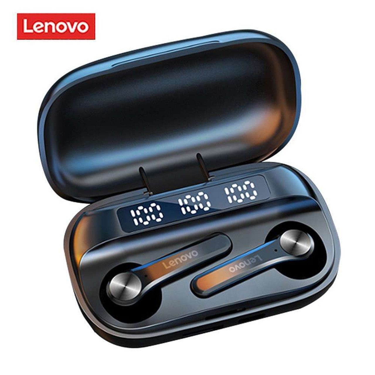 Lenovo QT81 Bluetooth 5.1 TWS Earbuds Touch Control 1200mAh Charging  Waterproof IPX4