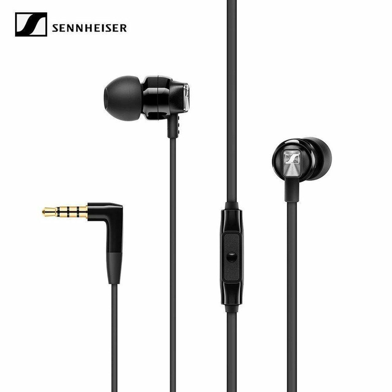 Sennheiser CX 300S In Ear Headphones with Mic for Phone Call One-Button