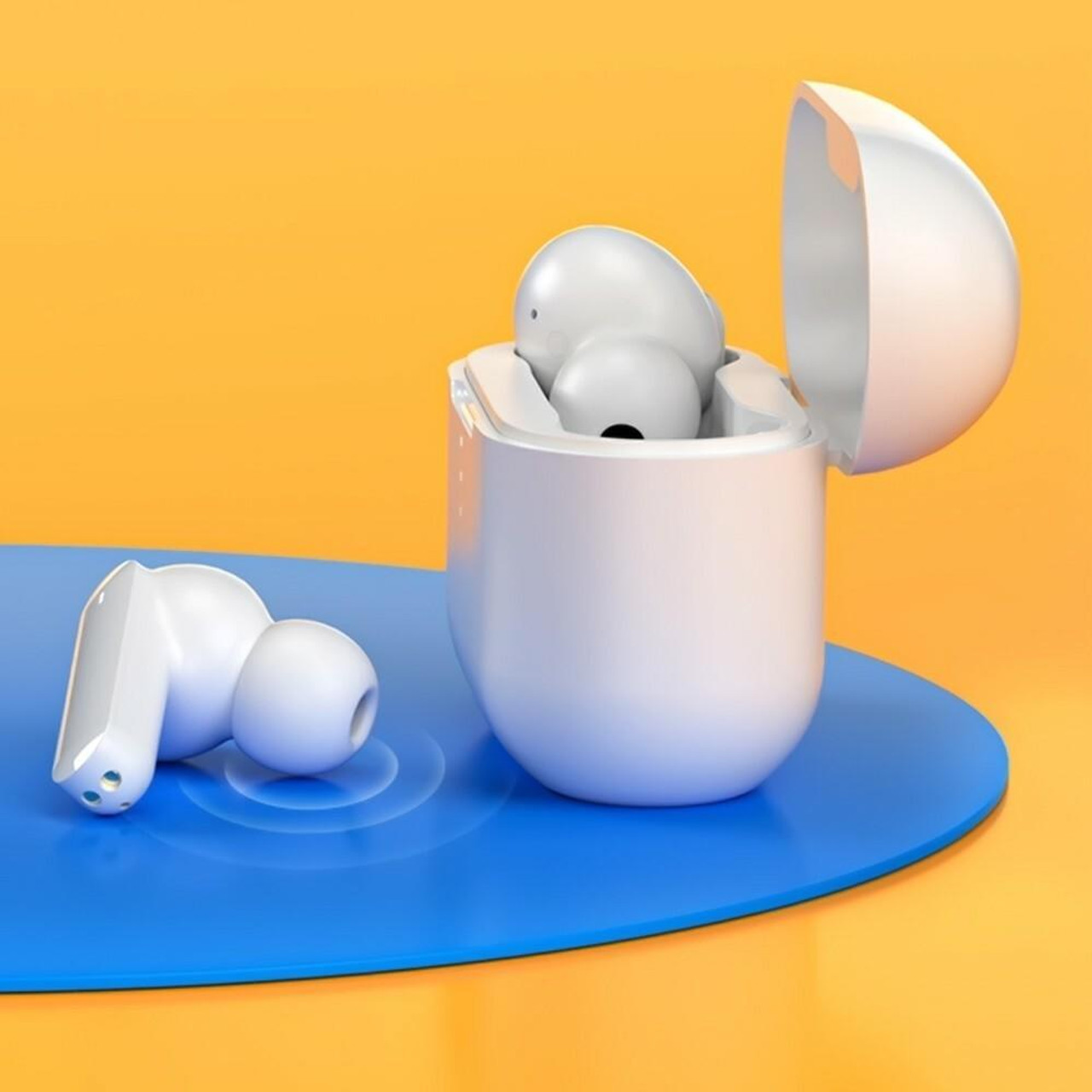 QCY T10 True Wireless Earbuds BT Headphones Dual Balanced Armature Drivers 4 Microphones Noise Cancellation