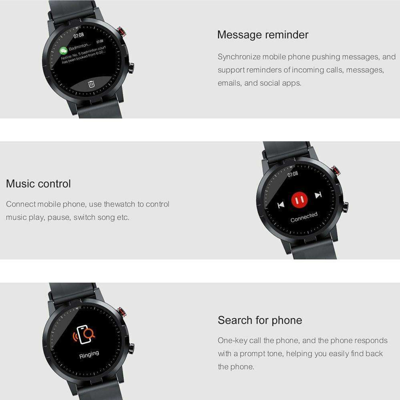 Global Version Haylou RT Smartwatch LS05S 1.28-In BT5.0 Fitness Tracker Waterproof Sleep and Heart Rate Monitor For Android IOS