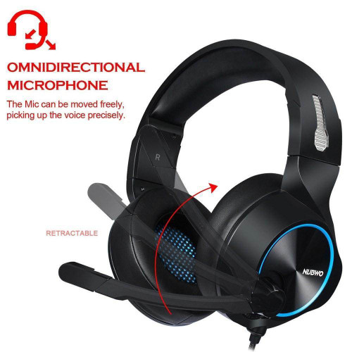 Nubwo N11 3.5mm Stereo Gaming Headset For PS4 PC & Xbox