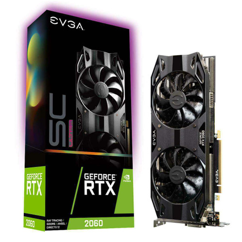 EVGA GeForce RTX 2060 Graphic Card - 6 GB GDDR6 GPU