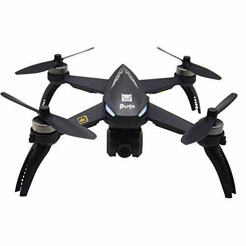 MJX B5W 4K Ultra HD GPS RC Quadcopter Drone With 3 Batteries