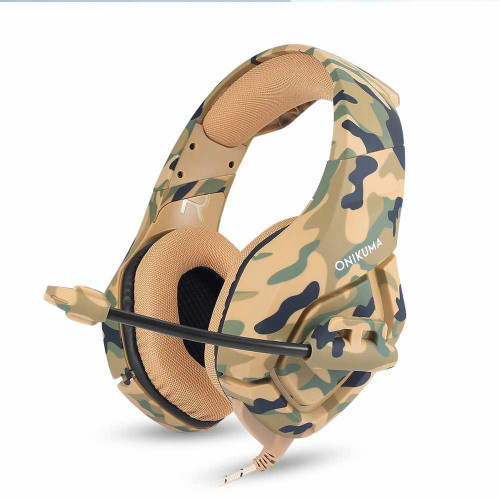 ONIKUMA K1 Camo Stereo Gaming Headset For PS4 PC & Xbox