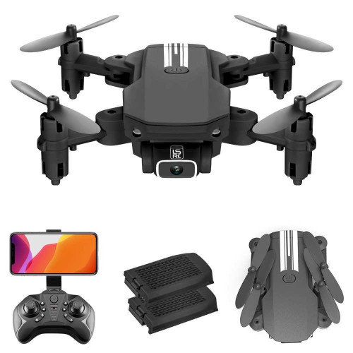 Cheap Mini Drone RC Quadcopter 1080P Camera with 2 Batteries