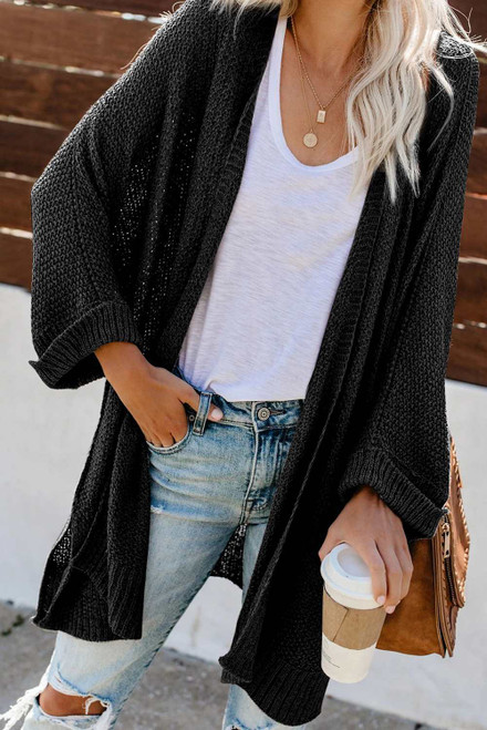 Knit Stylish Cardigan For Women
