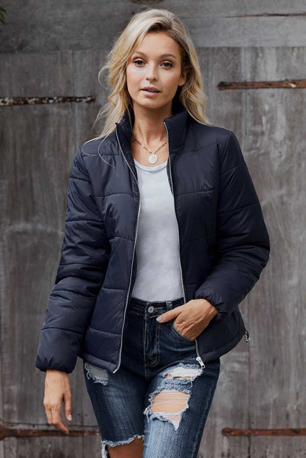 Mammoth Pocketed Puffer Jacket For Women