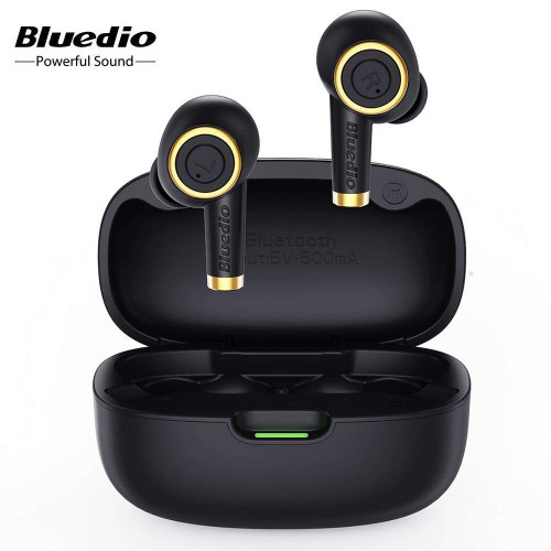 Bluedio Particle BT5.0 Earphone TWS Earbuds Sport Waterproof