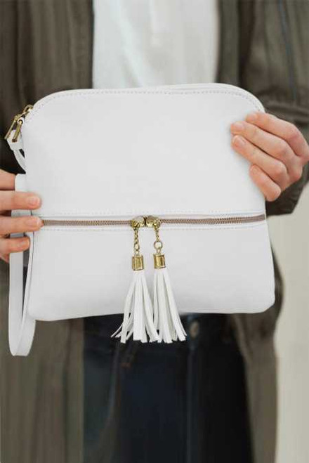 Crossbody Bag with Tassel For Women