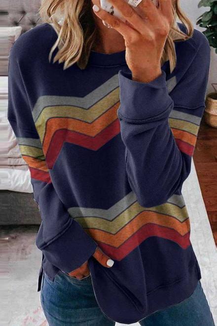 Color Block Classic Sweatshirt